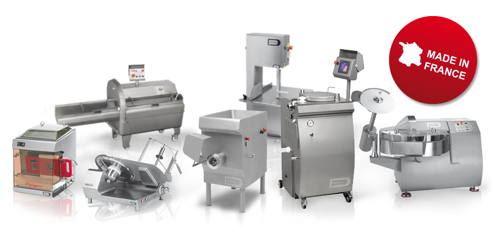 Our range of machine for meat